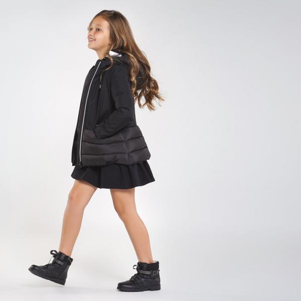 Czarna kurtka zimowa dziewczęca 7419 Mayoral