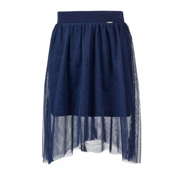 Asymetryczna spódnica dla dziewczynki Sally granatowa Al-Da