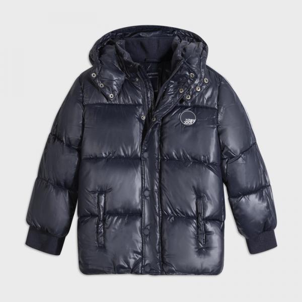 Chłopięca kurtka zimowa granatowa 7467 Mayoral