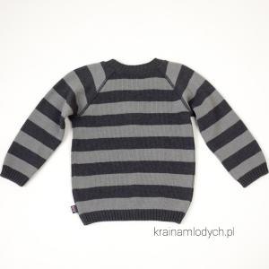 Sweter w pasy dla chłopca